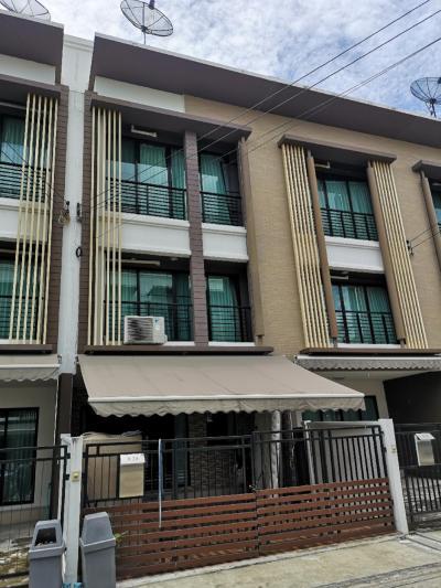 For SaleTownhouseThaphra, Wutthakat : Townhome for sale, Baan Klang Muang, Kalapapruek, Soi Kamnanman  AN020