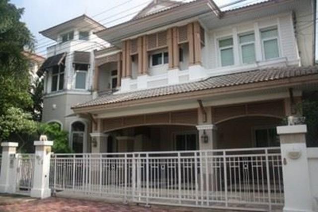 RH159 ให้เช่า บ้านเดี่ยว บางกอกบูเลอวาร์ด รามอินทรา - รัชดา