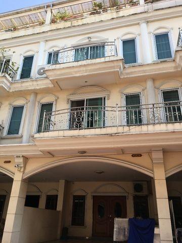 For RentHome OfficeRama3 (Riverside),Satupadit : RT231 Home office for rent, 4 floors, Soi Sathupradit 28.