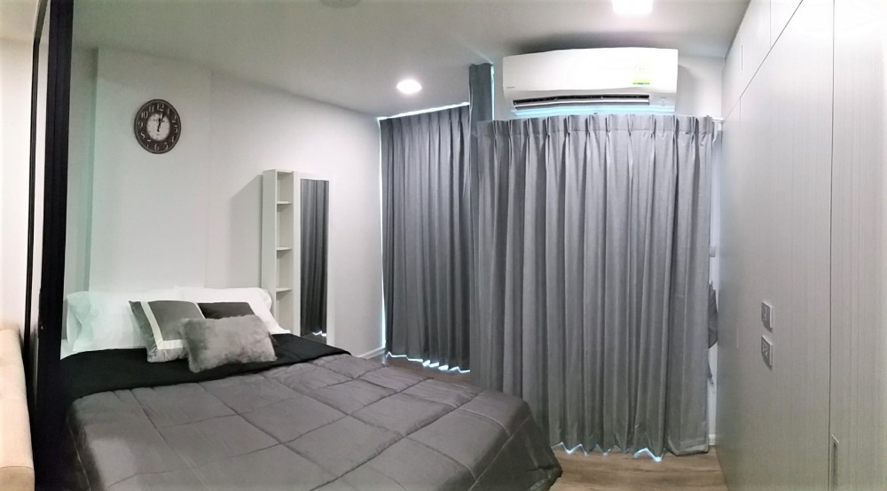 For RentCondoVipawadee, Don Mueang, Lak Si : Beautiful condo for rent, Phaholyothin, Bangkhen, Ramindra, Fully furnished For RENT - Condo 1 B 1 BR 5th fl. ฿ 8,750 / mo.