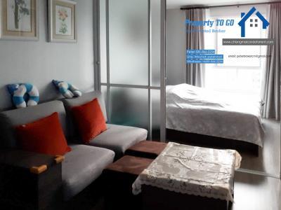 ขายคอนโดเชียงใหม่-เชียงราย : วิวสระ Dcondo Ping ดีคอนโด พิงค์ เชียงใหม่ ขายคอนโด ชั้น 8, 1 ห้องนอน 30 ตรม. 2.7 ลบ. รวมโอน ใกล้กับเซนทรัลเฟสติวัล