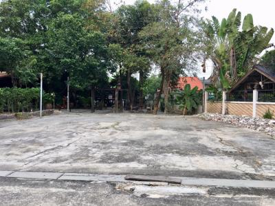 For SaleLandLadprao101, The Mall Bang Kapi : Land for sale in Ramkhamhaeng Soi 68, Bang Kapi 127 sq. W. Waterfront, good location near the skytrain Indent Amway