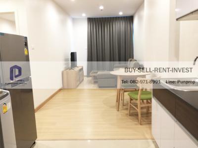 For SaleCondoSathorn, Narathiwat : Condo for sale Rama 3 @ Supalai Light Ratchada-Narathiwat-Sathorn, near expressway, 50 sqm., 1 bedroom, city view, ready to move in 4.55 million
