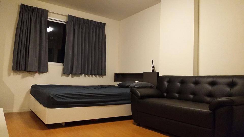 For RentCondoSamrong, Samut Prakan : For rent, Lumpini Mixx Thepharak-Srinakarin Fully furnished 5000 baht per month