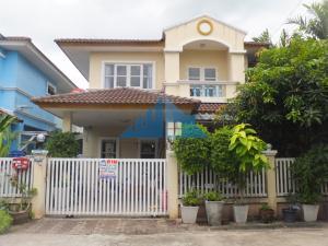 For SaleHouseRangsit, Patumtani : 2 storey detached house 36.3 sq.m., 3 bedrooms, 2 bathrooms, good condition, near Rajamangala University of Technology Thanyaburi In the community area Nantaya Village (Pornthisan 9), Thanyaburi Road, Rangsit-Nakhon Nayok Road, negotiable