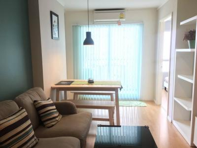 For SaleCondoPattanakan, Srinakarin : Condo for sale, Lumpini Place Srinakarin-Hua Mak Station, size 33 sq.m., nice room, good view, with tenant