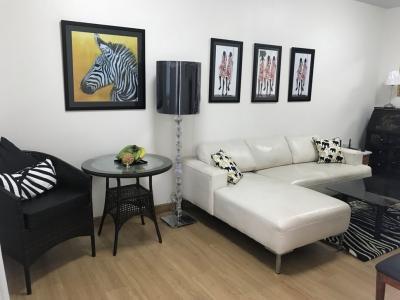 For RentCondoRattanathibet, Sanambinna : Condo For Rent Bangkok Supalai City Resort, Phra Nang Klao - Chao Phraya Station (9th floor) 2 Bedrooms / 1 Bathroom ** 18,000 Fully furnished