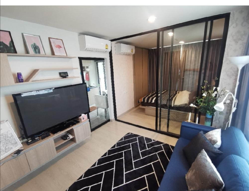 เช่าคอนโดอ่อนนุช อุดมสุข : Owner post รรคาไม่ผ่านเอเจ้นSpecial Price !!from 15k to 13k only this month!!For Rent/sale +++++1 Bed Corner Room on 8th floor@Niche Mono Sukhumvit50