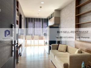 For SaleCondoSathorn, Narathiwat : Condo for sale near BTS Saphan Taksin @ Rhythm Sathorn 1 bedroom building North 35.07 sqm., Ready to move in, 4.95 million.