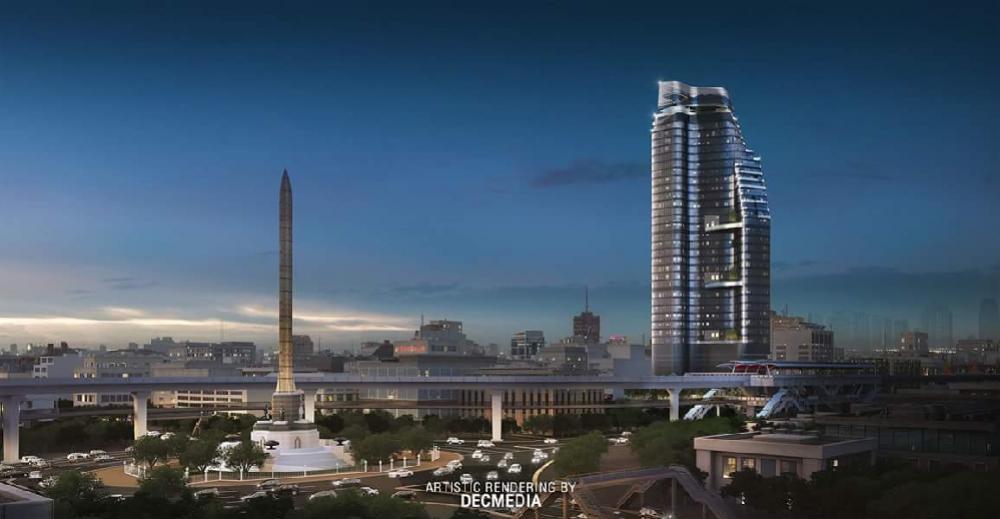 For RentCondoAri,Anusaowaree : Urgent sale Ideo Q victory Condo next to BTS Victory Monument 0 m. 1 bedroom. 35 sqm, high floor, north 0626562896 Ray