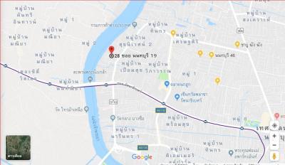 ขายที่ดินรัตนาธิเบศร์ สนามบินน้ำ : (เจ้าของ) ขายที่ดินสวย 108 ตรว. 200m จากถนนใหญ่ ใกล้รถไฟฟ้าเพียง 2 นาที ใกล้แม่น้ำเจ้าพระยา กระทรวงพาณิชย์