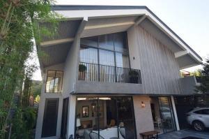 For SaleHousePhutthamonthon, Salaya : Modern detached house for sale in Sukhumvit 65, Pridi Banomyong, odd number