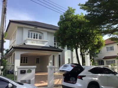 For RentHousePinklao, Charansanitwong : 2 storey detached house for rent in Nantawan, Ring Road-Pinklao Village, Kanchanaphisek Rd.