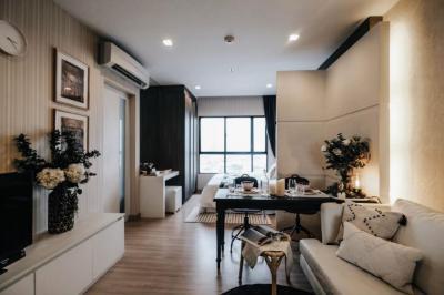 ขายคอนโดวงเวียนใหญ่ เจริญนคร : For rent/sale Urbano Aboslute30 sqm High floor River view