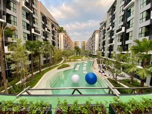 ขายดาวน์คอนโดรังสิต ธรรมศาสตร์ ปทุม : **ด่วนห้องสุดท้าย Kave Town ชั้น3 ตึกหน้าสุด ราคา 1.59ล้าน LineID: JET987