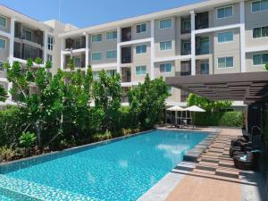 For SaleCondoRangsit, Patumtani : Condo MT Residence, Khlong Luang, Lowest 1.7 million baht, free transfer! (New room, never been in)