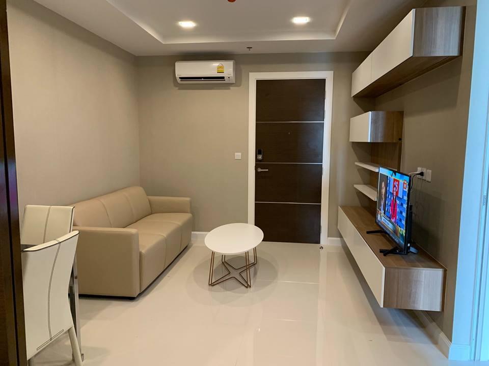 For RentCondoSamrong, Samut Prakan : ให้เช่า คอนโดใหม่ ติดรถไฟฟ้า เดอะ เมโทรโพลิส สำโรง 1 ห้องนอน ราคา 10,000 บาท