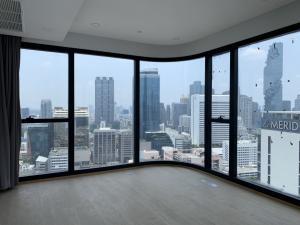 ขายถูกห้องใหม่มือหนึ่ง Ashton chula silom 2bedroom 57.23 ตรม. ชั้น 17 วิวสีลม วิวตึกมหานคร กระจกโค้ง สวยมากกก