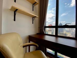 For RentCondoSiam Paragon ,Chulalongkorn,Samyan : For rent Ashton Chula-Silom high floor nice view 1 bed 27,500 baht