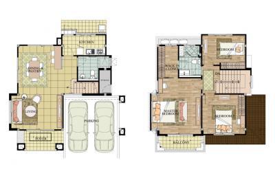 For SaleHouseRattanathibet, Sanambinna : For Sale ++ The Centro Rattanathibet Single house, Never been in 5.3 million