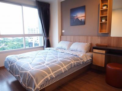 For RentCondoRamkhamhaeng, Hua Mak : Condo for rent at U Delight @ Hua Mak Station, beautiful room, good location, good price
