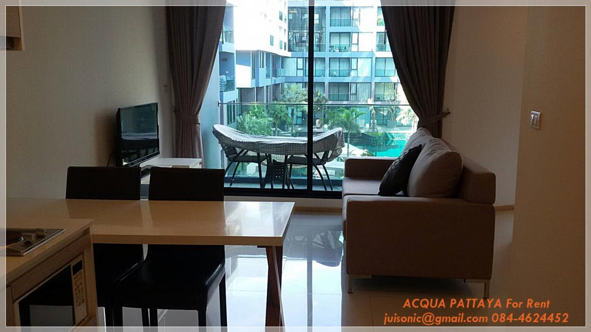 For RentCondoChonburi, Pattaya, Bangsa : Acqua Jomtien Pattaya Condo for rent