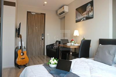 เช่าคอนโดพระราม 9 เพชรบุรีตัดใหม่ : For Rent Ideo Mobi Asoke ( 25 square metres )
