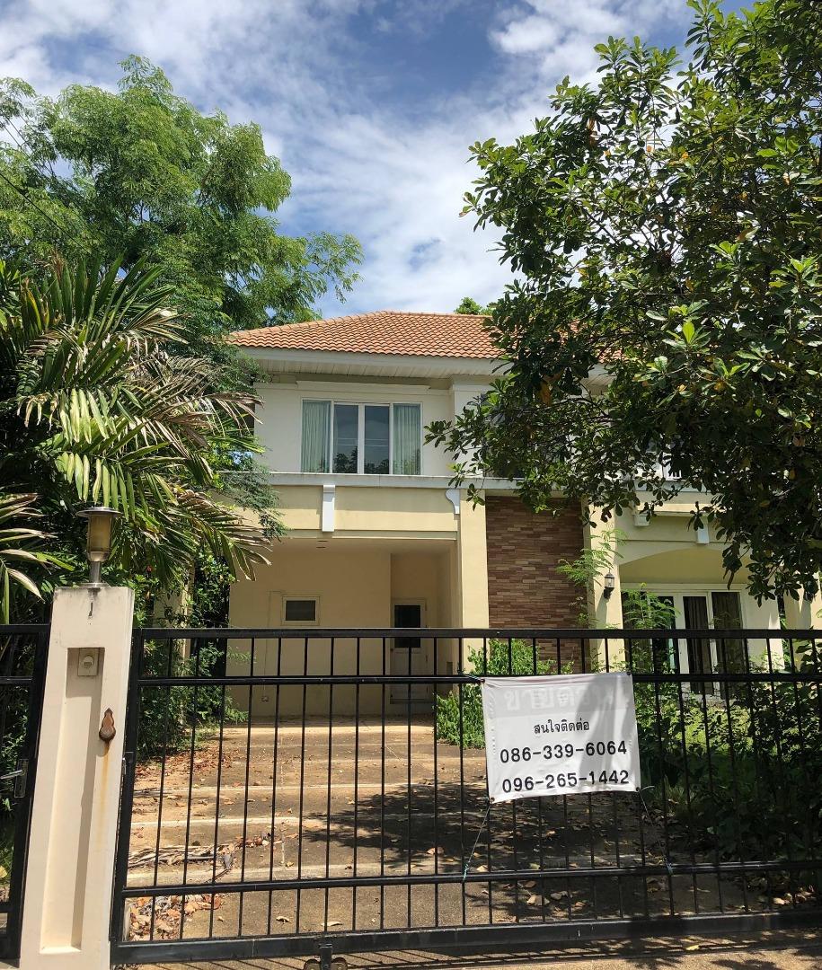 For SaleHouseBangbuathong, Sainoi : Quick House for sale Perfect Place Rattanathibet 4 bedrooms 3 bathrooms
