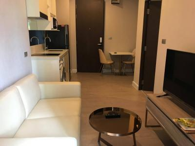 เช่าคอนโดอ่อนนุช อุดมสุข : The Sky Sukhumvit 1 bedroom for rent (500 m. to BTS Udomsuk) ให้เช่าคอนโด เดอะสกาย 30 sqm 1 bedroom, 1 bathroom.  Floor 7th. E Building