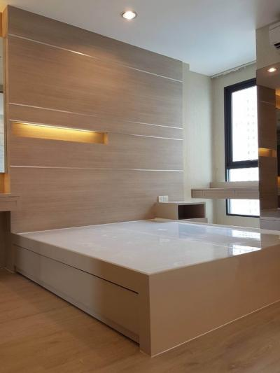 For SaleCondoRatchathewi,Phayathai : +++ FOR SALE!! +++ Ideo Q Ratchathewi 1 bedroom 34 sq.m., open view, beautiful decoration