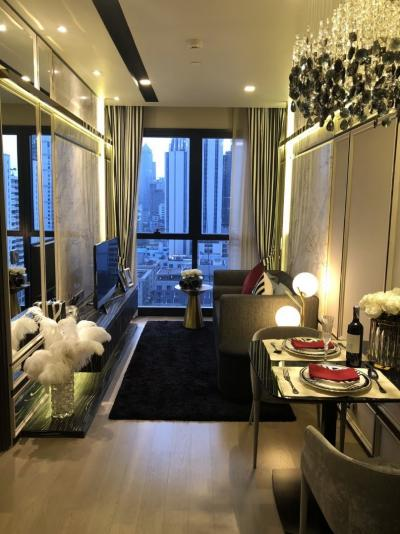 Sale DownCondoSukhumvit, Asoke, Thonglor : Sell Asoke condo, new room at only 6.99 million, the cheapest price