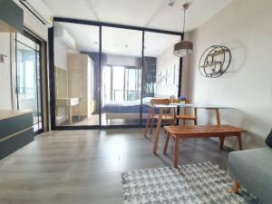 For RentCondoRattanathibet, Sanambinna : For rent, politan rive, 31st floor, 30 sq.m., river view, Phra Nang Klao Bridge, fully furnished.