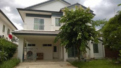 For RentHouseRama5, Ratchapruek, Bangkruai : House for rent in Manthana Village, near The Walk, Rama 5 roundabout