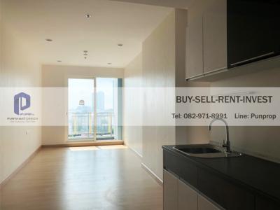 For SaleCondoSathorn, Narathiwat : Selling a new room! Supalai Lite Ratchada-Narathiwas-Sathorn 50 sqm. 18th floor, city view 4.79 million baht.