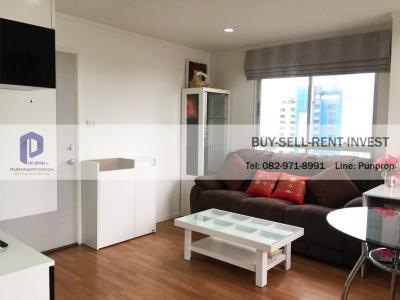 For SaleCondoRama9, RCA, Petchaburi : For sale, Lumpini Park Rama 9-Ratchada, corner room, city view, 37 sqm., 3.5 million
