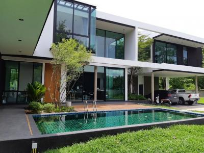 ขายบ้านเชียงใหม่-เชียงราย : KH016 ขาย Modern Pool Villa หรู พร้อมเฟอร์ ขนาด 4 ห้องนอน 5 ห้องน้ำ บนที่ดิน 630 ตารางวา