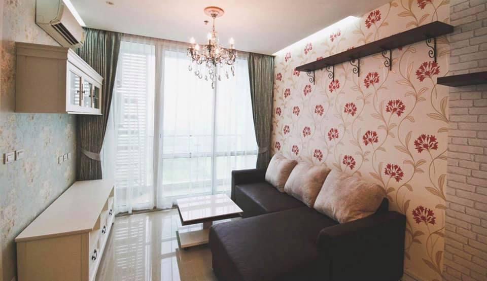 For RentCondoRama9, RCA, Petchaburi : ให้เช่า คอนโด ทีซี กรีน พระราม9 (TC GREEN RAMA9 ) - 1 ห้องนอน 1 ห้องน้ำ ครัวเปิด - ขนาดห้อง 39 ตร.ม ชั้นที่ 30 ตึก A - ตกแต่งสวย เฟอร์นิเจอร์ครบ  ราคาเช่า 12,000 บาท /เดือน