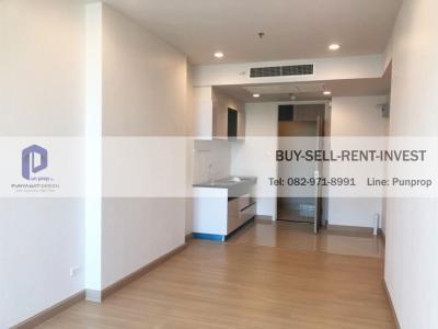 For SaleCondoSathorn, Narathiwat : Selling a new room, never lived! Supalai Lite Ratchada-Narathiwas-Sathorn 50 sqm. 1 bedroom, 7th floor, city view, quiet 4.5 million.