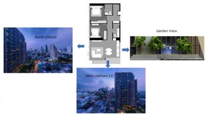**RARE** Tait 12 For Sale: 2 Bedrooms (Private Garden View)>> 24.5 Millions