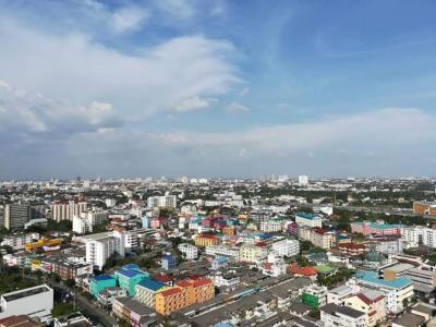 เช่าคอนโดอ่อนนุช อุดมสุข : For Rent The Line Sukhumvit 71. Bts Prakanong. 1 bed 40 sqm. high floor