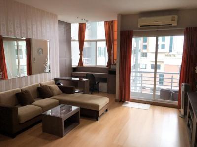For RentCondoPattanakan, Srinakarin : Condo for rent, The Four Wings Residence (Srinakarin), Bang Kapi, Huamark, 1 bedroom, 2 bathrooms, near Suvarnabhumi Airport  (MRT Yellow Line)