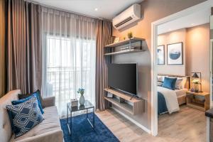 For SaleCondoSamrong, Samut Prakan : For sale. 1 bedroom condo, Kensington Sukhumvit, Thepharak, beautiful room, size 24.13 sq.m., 10th floor, pool view.