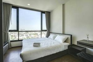 For RentCondoOnnut, Udomsuk : For Rent The Line Sukhumvit 71. Bts Prakanong. 1 bed 40 sqm. high floor