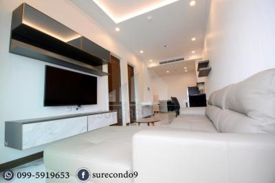 For RentCondoSilom, Saladaeng, Bangrak : 😊3 bedrooms for rent, 2 parking spaces, near BTS, Cultural Center.