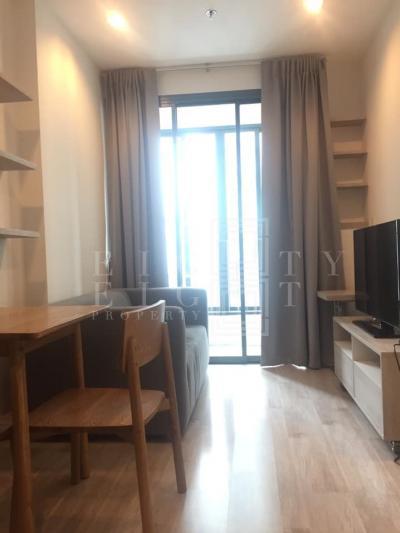 เช่าคอนโดพระราม 9 เพชรบุรีตัดใหม่ : For Rent Ideo Mobi Rama 9 ( 33 square metres )