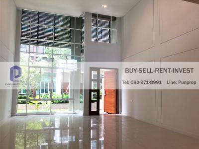 ขายทาวน์เฮ้าส์/ทาวน์โฮมพระราม 3 สาธุประดิษฐ์ : ขายทาวโฮมใหม่ไม่เคยอยู่ Town Villa พระราม 3 ท่าน้ำสาทุประดิษฐ์ 4 ชั้นครึ่ง 330 ตรม. 19 ล้าน