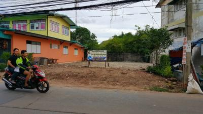 For SaleLandRama 2, Bang Khun Thian : Land for sale on the road in Soi Thian Talay 20, suitable for building commercial tenants