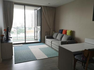 For RentCondoBang Sue, Wong Sawang : For Rent / Sale 333 Riverside Condo beside Chao Phraya River, Mrt Bang Pho, 1 bed, river view