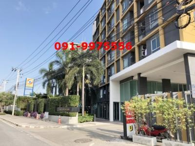 For SaleCondoRamkhamhaeng, Hua Mak : Condo for sale, U @ Hua Mak Station, Building A, 6th floor, near Airport Link Hua Mak And Ramkhamhaeng University, ABAC University