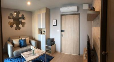 เช่าคอนโดบางนา แบริ่ง : For rent IDEO O2 1 bed 33 sqm. New room 1 bedroom for rent, beautiful, fully furnished, 14,000 baht